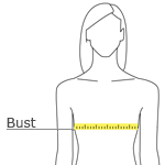 Measurements for Silk Touch Sport Shirt -